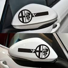 2020 For Alfa Romeo Custom Wing Mirror Body Decals Stickers Mito Giulietta Giulia Stelvio 159 147 156 166 Gt Mito Car Styling From Zjy547581580 5 03 Dhgate Com