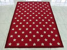The Westport Company Star Rug Rugs Blue And White