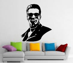 Amazon Com Andre Shop Terminator Wall Decal Superhero Vinyl Sticker Wall Decor Removable Waterproof Decal Sx612 Home Kitchen