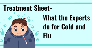 Treatment Sheet- What the Experts do for Cold and Flu - Premier Formulas