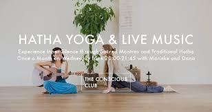 hatha yoga live the