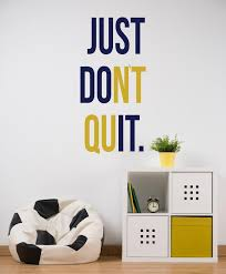 Just Do It Wall Decal Empowering Kids Quote Wall Decoration Etsy