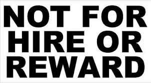 Not For Hire Or Reward Sticker Decal Vinyl X2 Pair Race Truck Horsebox Archives Midweek Com