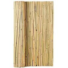 Amazon Com Backyard X Scapes Black Rolled Bamboo Fence 1in D X 3ft H X 8ft L Garden Outdoor
