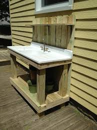 kitchen sink for the bbq patio