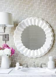 serena lily mosaic mirror look