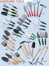 gardening garden tools