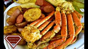 THE BEST EVER SMOKED CRAB LEGS!!!