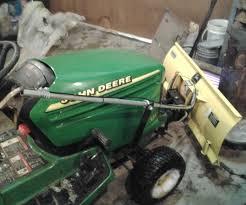 snow plow tilt adjuster john deere 325