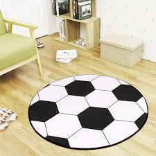 Football Basketball Volleyball Round Carpet Kids Room Area Rugs Bedroom Children Boys Sport Room Non Slip Chair Floor Mat Karpet Room Area Rugs Area Ruground Carpet Aliexpress