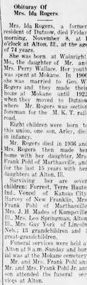 Ida Wallace Rogers Obituary - Newspapers.com