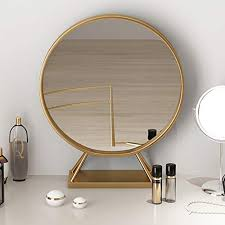 mirror with base large circle mirrors
