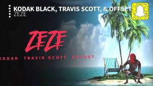 Kodak Black - ZEZE (Clean) ft. Travis ...