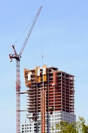 Un edificio en construcción en boston.   Foto Premium