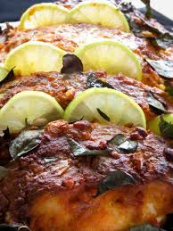 Indian tandoori fish masala (oven-baked ...