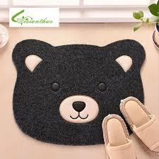 doormats cartoon bear floor mat doormat