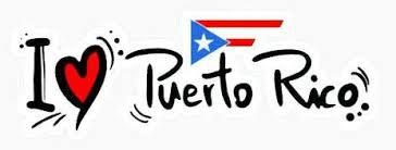 I Love Puerto Rico Car Decal Puerto Rico Factory