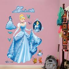 Cinderella From Rags To Riches Wall Decal Sticker Wall Decal Allposters Com