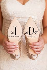 Personalised Wedding Shoe Vinyl Sticker Decal With Name Date Decorations Bridal Shoe Bridesmaid I Do Etc 2772317 Weddbook