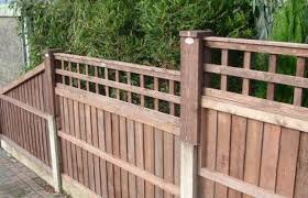 Fencing Idea Concrete Fence Posts Backyard Fences Concrete Fence