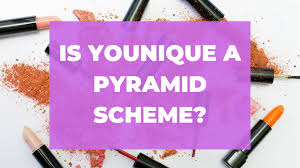 is younique a pyramid scheme the