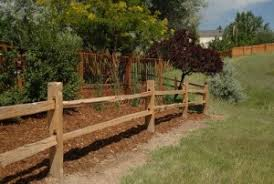Post And Rail Fencing Cedar Split Rail Fence Rustic Fencing