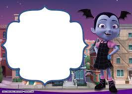 Disney Vampirina Birthday Invitation Template Invitaciones De