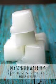 diy wax cubes for wax warmers