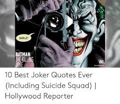 smile batman the killing tg dccomicscom best joker quotes ever