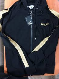 sixth june track jacket gold taping