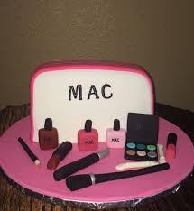 elegant cakery mac makeup bag cake