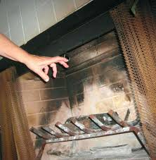 how to open a chimney damper