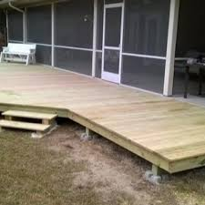 Deck Foundations Alternative Ways To Support Decks