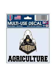 Purdue 3 X 4 Agriculture Decal Purdue Car Accessories Purdue Team Store