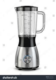 Electric Blender Kitchen Appliance Equipment Isolated ภาพประกอบสต็ ...