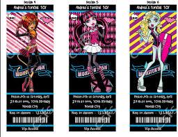 Amazon Com Personalizado Printable Monster High Invitaciones Del