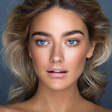 natural makeup tips blue eyes