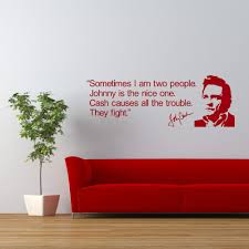 Johnny Cash Quote Vinyl Wall Art Sticker Room Decal Wall Diy Wall Stickers For Living Room Bedroom Mural Adesivo De Parede D512 Wall Sticker Stickers Forsticker For Living Room Aliexpress