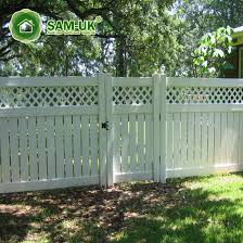 China 6 X 8 Semi Private Vinyl Picket Fencing Top Backyard China White Vinyl Privacy Fence White Vinyl Privacy Fencing