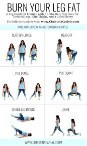 leg workout for women for toned legs