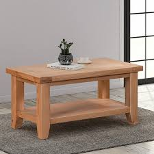 light oak small coffee table is part of