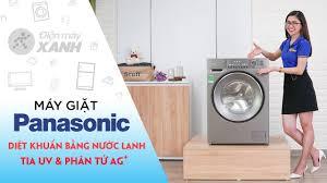 Máy giặt Panasonic Inverter 9 Kg: Diệt khuẩn khi giặt bằng nước ...