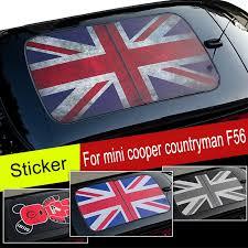 Car Sunroof Wrap Vinyl Film Roof Union Jack Sticker Window Decal Sunshade For Mini Cooper Countryman Jcw S One F54 F55 F56 F60 Car Stickers Aliexpress