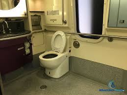 amtrak acela bathroom wheelchair travel