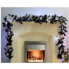 garland with light pre lit