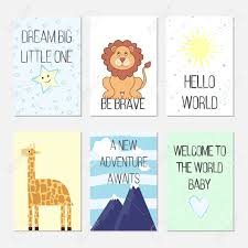 birthday cards quotes cartoon leo and giraffe for baby