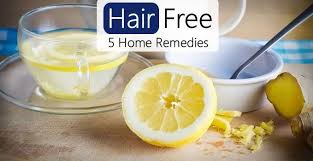 5 home remes for fast hair removal