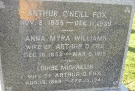 Arthur O'Neal Fox (1855-1939) - Find A Grave Memorial