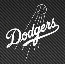 Los Angeles Dodgers Decal Car Truck Window Die Cut Sticker Mlb Baseball Ebay