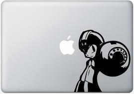 Megaman Vinyl Decal Sticker Apple Macbook Pro Air Mac